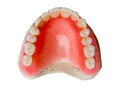 保険の入れ歯(レジン床)